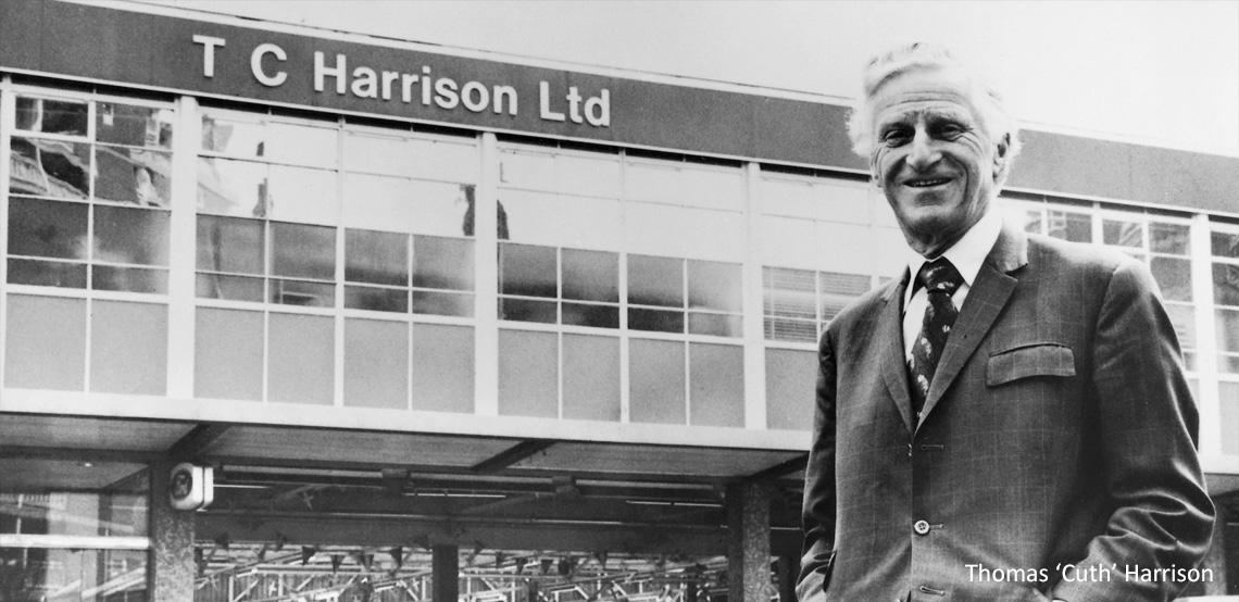 TC Harrison Group company history